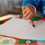Обучаем ребенка рисовать овал — 3 простых метода