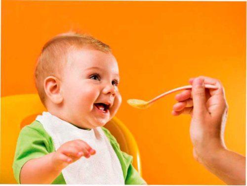 Первый прикорм ребенка фото