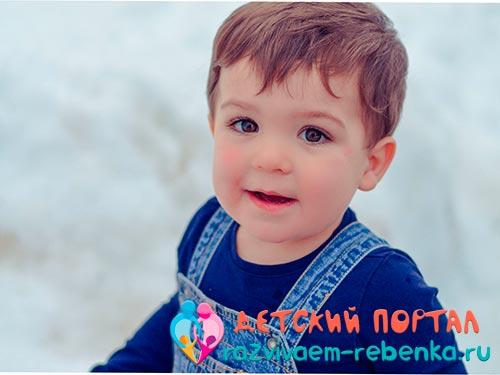 Фото двухлетнего мальчика