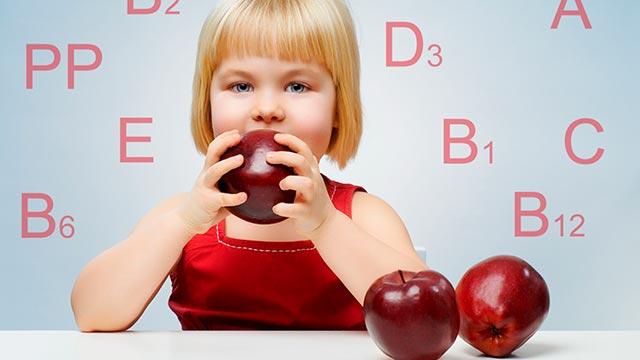 Польза витаминов для детского организма Фото