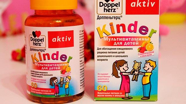 Состав детских поливитаминов Фото