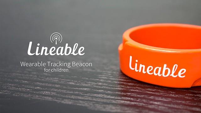 Браслет для определения местоположения ребенка Lineable Фото
