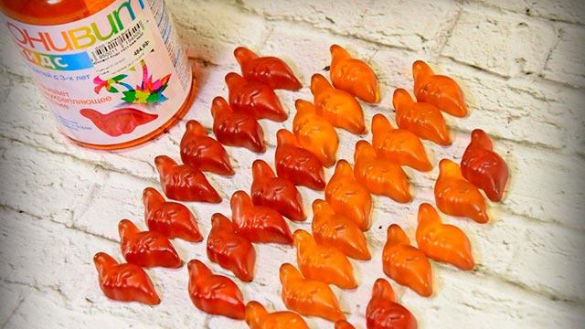 Витамины Юнивит Кидс в форме динозавриков Фото