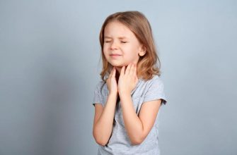 У ребенка осип голос