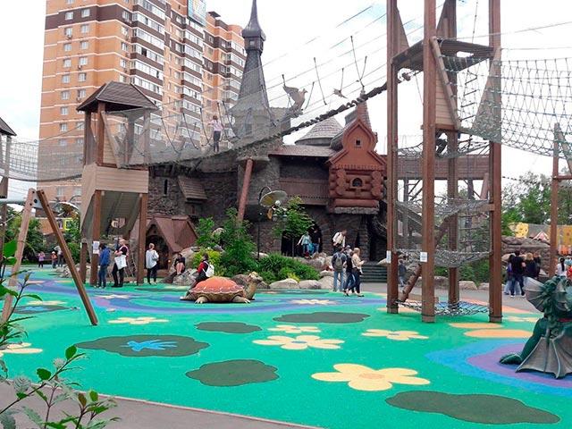 Сказочный парк «Лукоморье» для детей Фото