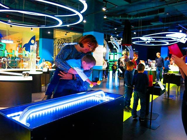 Интерактивный центр Иннопарк в Москве для детей Фото