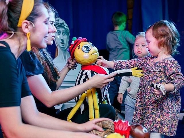 Бэби театр для маленьких зрителей в Москве Фото